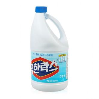 유한락스 주방용 2L/살균표백/악취제거/청소