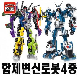 인기합체로봇4종/레고형조립블럭/어린이날선물사은품
