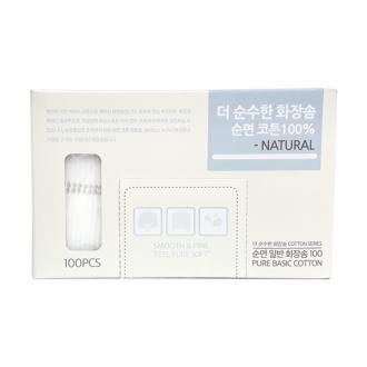 (잡동산이) 화장솜/더순수한 화장솜(100P)/클렌징 티