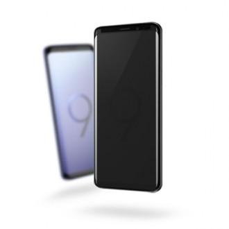갤럭시S9 플러스 저반사 사생활 보호필름 BLACK LABEL