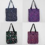 [하이뷰] B190/패턴인형키링에코백/보조가방/천가방