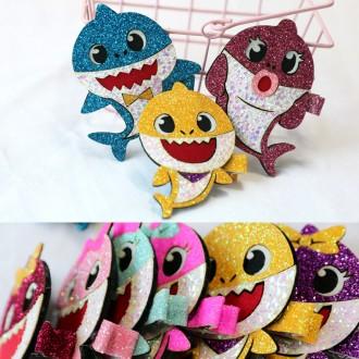 [라라앤봉봉]뚜루루뚜루 Baby Shark 헤어핀 인기폭팔