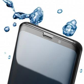 [폰핏] 6D UV 나노 글라스 액상 풀접착 강화유리 N960