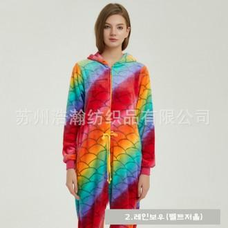 [히트패션] PJ 021 신상 캐릭터 동물잠옷 남여커플OK