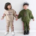 [꼬마창고]기모헤일리세트/아동복/남여공용