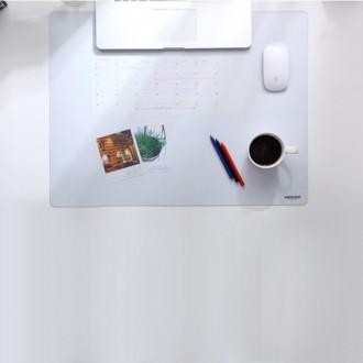 고투명 데스크매트 A3/ 투명판 책상매트 투명고무판