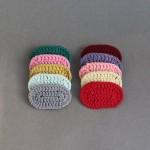 [아이쭈] 6cm 둥근 뜨게 똑딱핀 (10color)