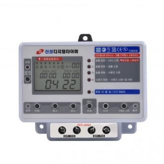 [SST-30SD] 24시간 절전 콘센트 타이머 스위치 멀티탭