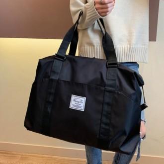 여행보조가방/ 캐리어 결합 보스턴백(블랙) (소)
