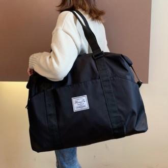 여행보조가방/ 캐리어 결합 보스턴백(블랙) (대)