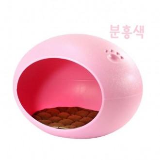 계란형 발자국하우스(핑크)
