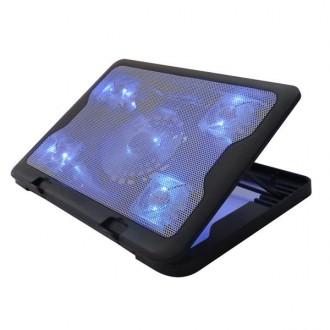 큐닉스 QNC-2000 5팬 노트북 쿨러 받침대