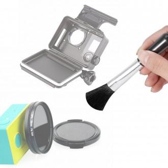 액션캠 소재용 브러쉬 먼지 솔 카메라 스마트폰 청소