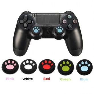 PS4/PS3/XBOX ONE 스틱커버 고양이 발바닥 커버(2P)