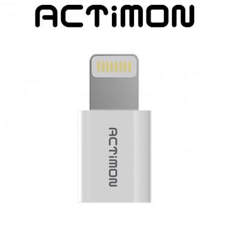 액티몬 아이폰 8핀 커넥터 충전 젠더 데이터 전송
