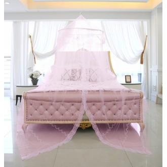 유럽형 캐노피 모기장-핑크